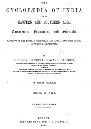 "Kakazai Pashtuns in ""The Cyclopædia of India and of Eastern and Southern Asia"" - by Edward Balfour (Originally Publish in 1885)"