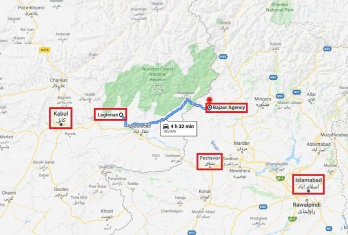 Laghman to Bajaur
